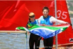 Family Robinson the World Champs Win the 2015 Mirror Worlds in SA